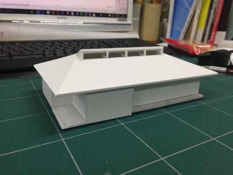 屋根検討用模型