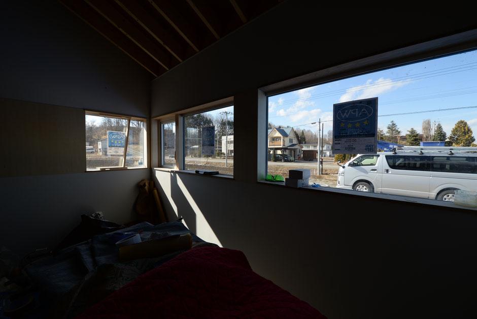 稲穂の家 連窓窓廻り納まり