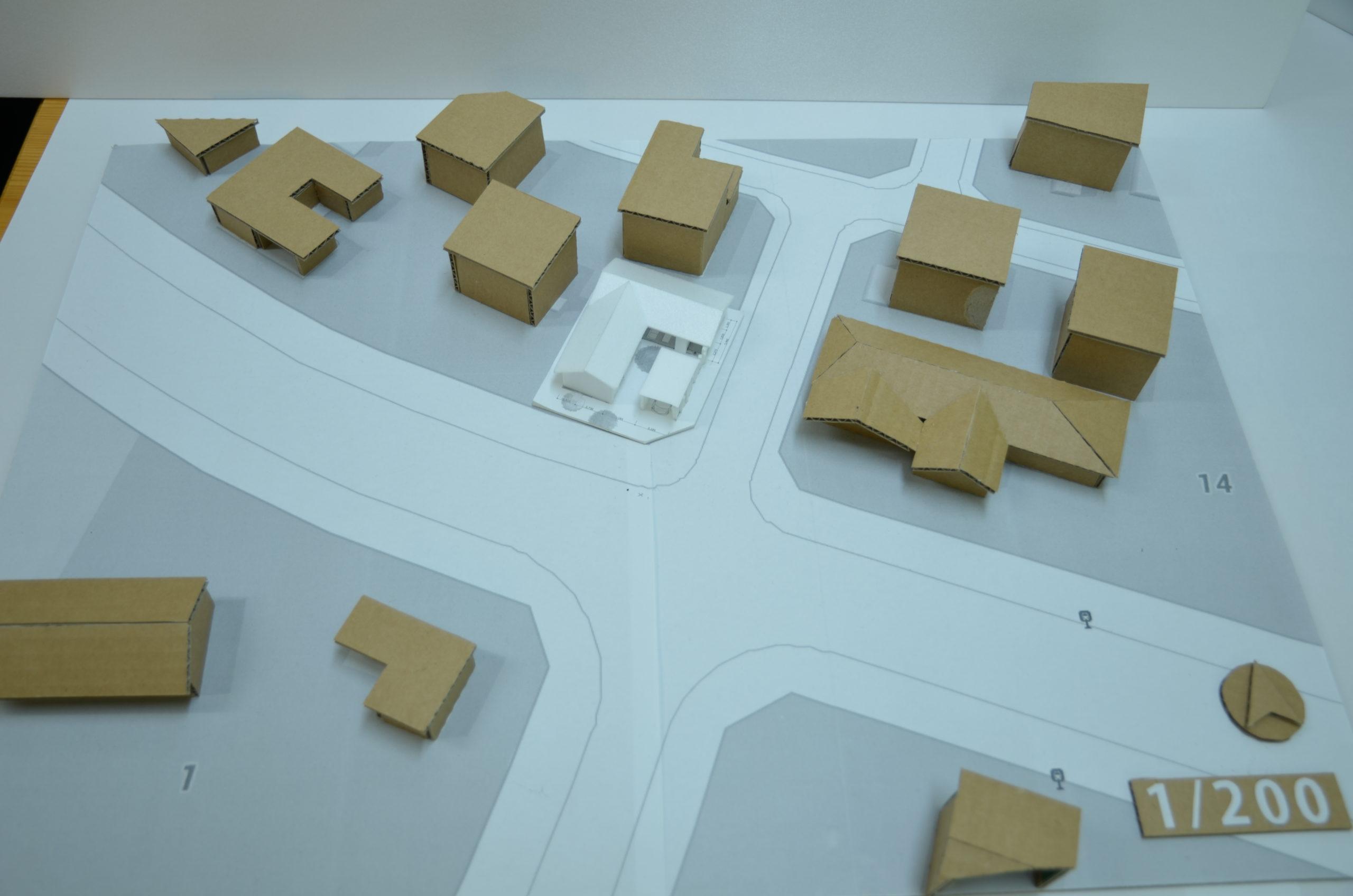 建築模型周辺模型